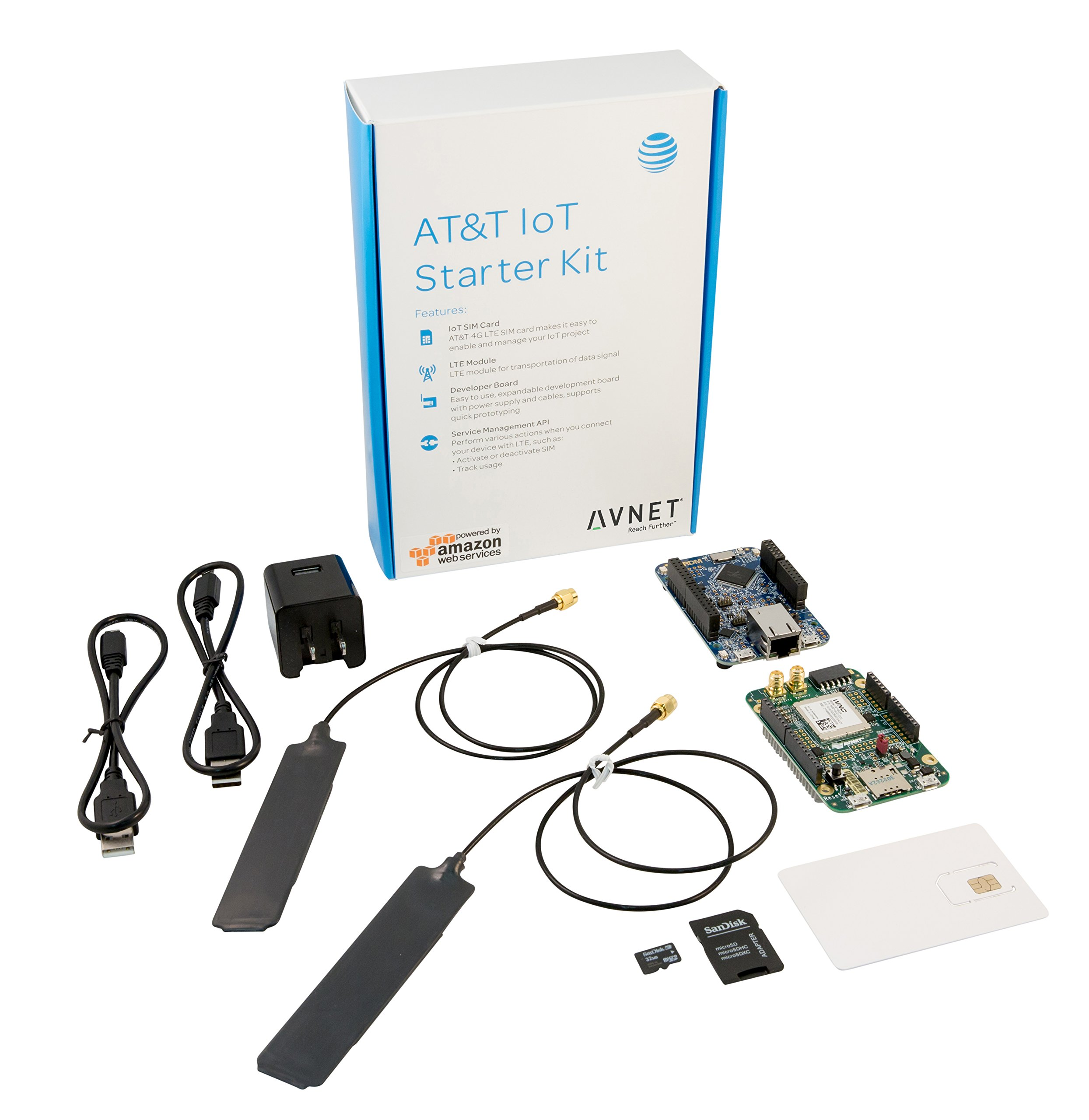 AT&T IoT Starter Kit Powered by AWS