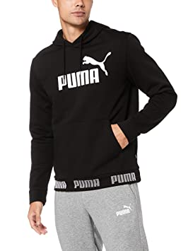 gros remise magasin en ligne le rapport qualité prix Puma Mens Amplified Pull Over Fleeced Hoodie: Amazon.co.uk ...