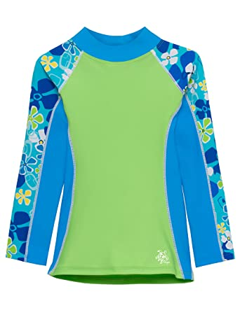 b4d2348bcf Amazon.com  Tuga Girls Long Sleeve Rash Guards 1-14 Years