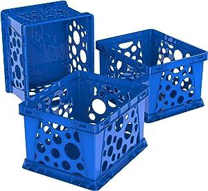Storex Mini Crate, 9 x 7.75 x 6 Inches