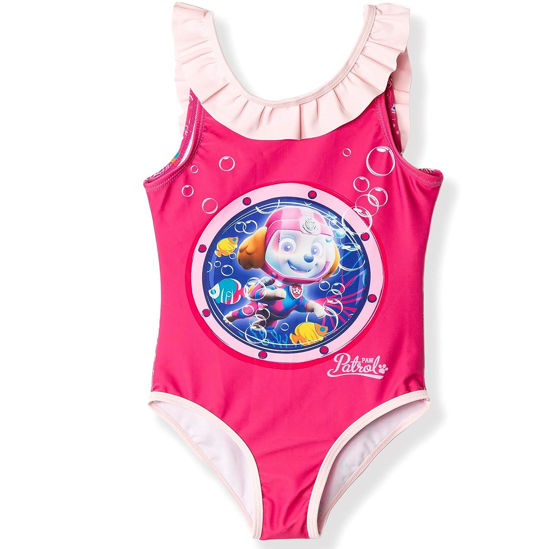 Costume da Bagno Ufficiale da Bambina 2 6 Anni. Nickelodeon Paw Patrol