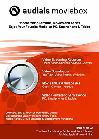 Amazoncom Audials Moviebox 11 Download Software