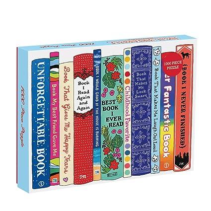Galison Ideal Bookshelf Universals Puzzle 1000 Piece
