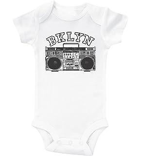 d977d17b8 Baffle Brooklyn Baby Onesie/BKLYN/Unisex Infant Bodysuit/New York Onesie