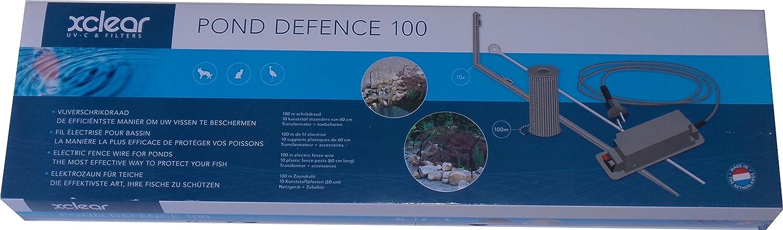 Fil /électrifi/é 100 M Pond Defense 100