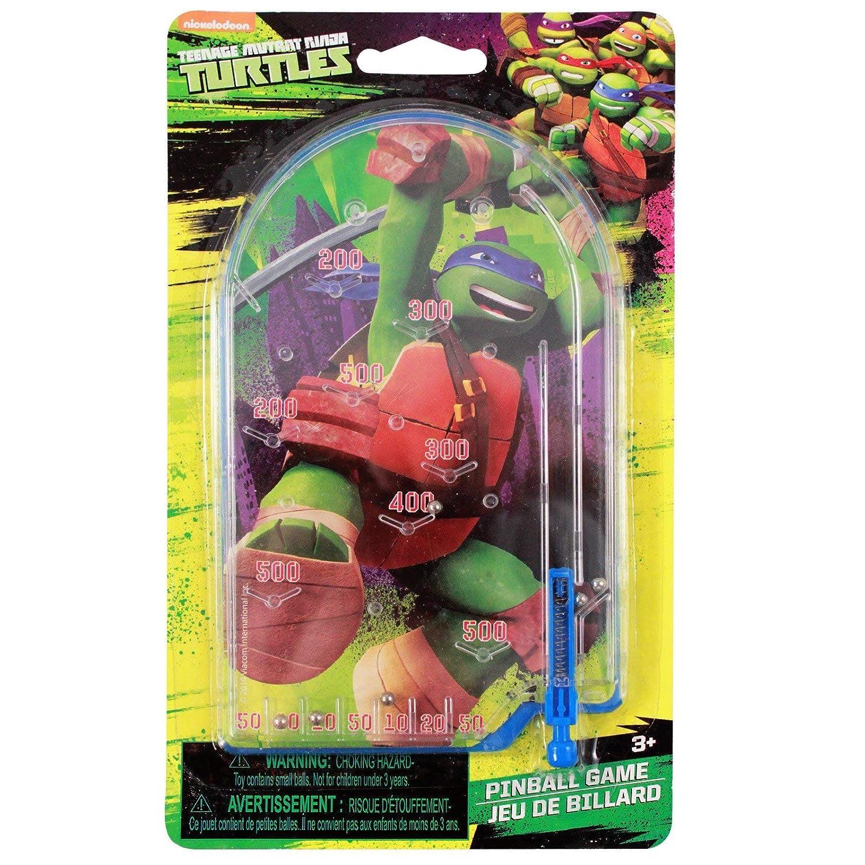 Amazon.com: Mini Teenage Mutant Ninja Turtle Pinball Juguete ...