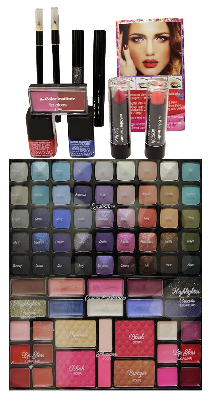 Amazon.com: El color Instituto Color Jugar 84 pcs Maquillaje ...