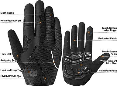 Details about  /1 Pair Unisex Gel Padded Gloves Breathable Half Finger Bike Workout Gloves