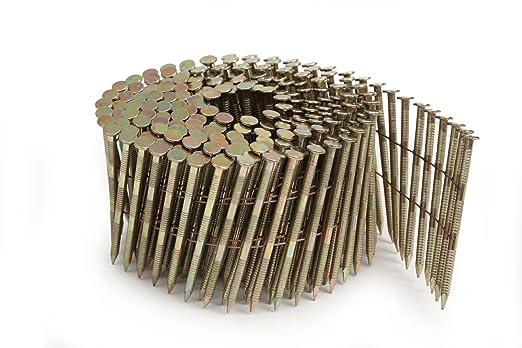 Tacwise FCN57V - Pistola clavadora neumática de bobina, utiliza clavos de cabeza plana de 2.1-2.5 mm de diámetro y hasta 57 mm de largo: Amazon.es: ...