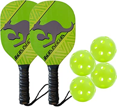 Amazon.com: Kanga Beginner - Pala de Pickleball y paquetes ...