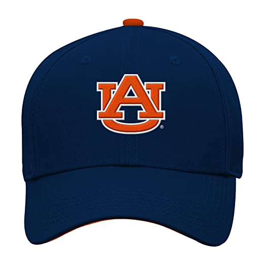 online retailer 00fce 04375 NCAA by Outerstuff NCAA Auburn Tigers Kids   Youth Boys Basic Structured  Adjustable Hat, Dark