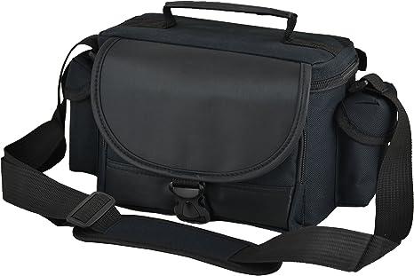 Bolso, estuche negro de hombro para cámara Nikon D3400, D3300, D3200, D3100, D5200, D5300, D5500.: Amazon.es: Electrónica