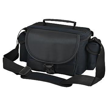 Bolso, estuche negro de hombro para cámara Nikon D3400, D3300, D3200, D3100, D5200, D5300, D5500.