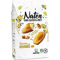 NATEN Madeleines Amande 180 g - Pack de 6