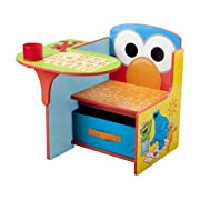 Delta Children Chair Desk With Storage Bin, Sesame Street