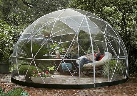 GARDEN IGLOO Jardin d\'hiver Translucide 360 x 360 x 220 cm Jardin d ...