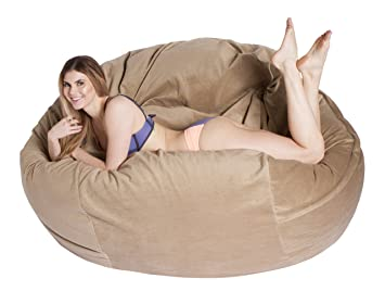 Comfortsacs Bean Bag Chairs Premium Foam Filled Lounge Sac
