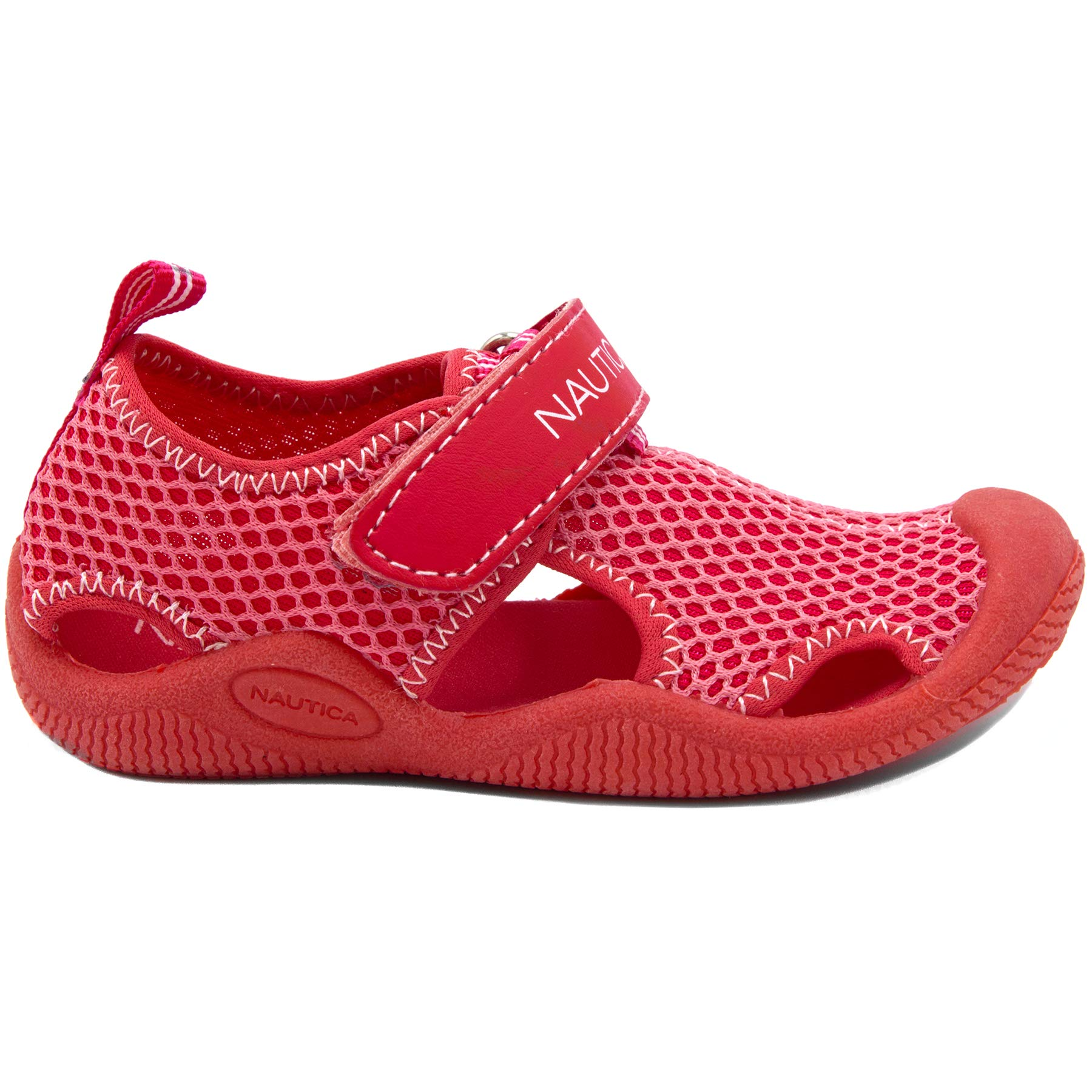 Nautica Kids Kettle Gulf Protective Water Shoe,Closed-Toe Sport Sandal-Pink/LT Pink-7 by Nautica (Image #2)