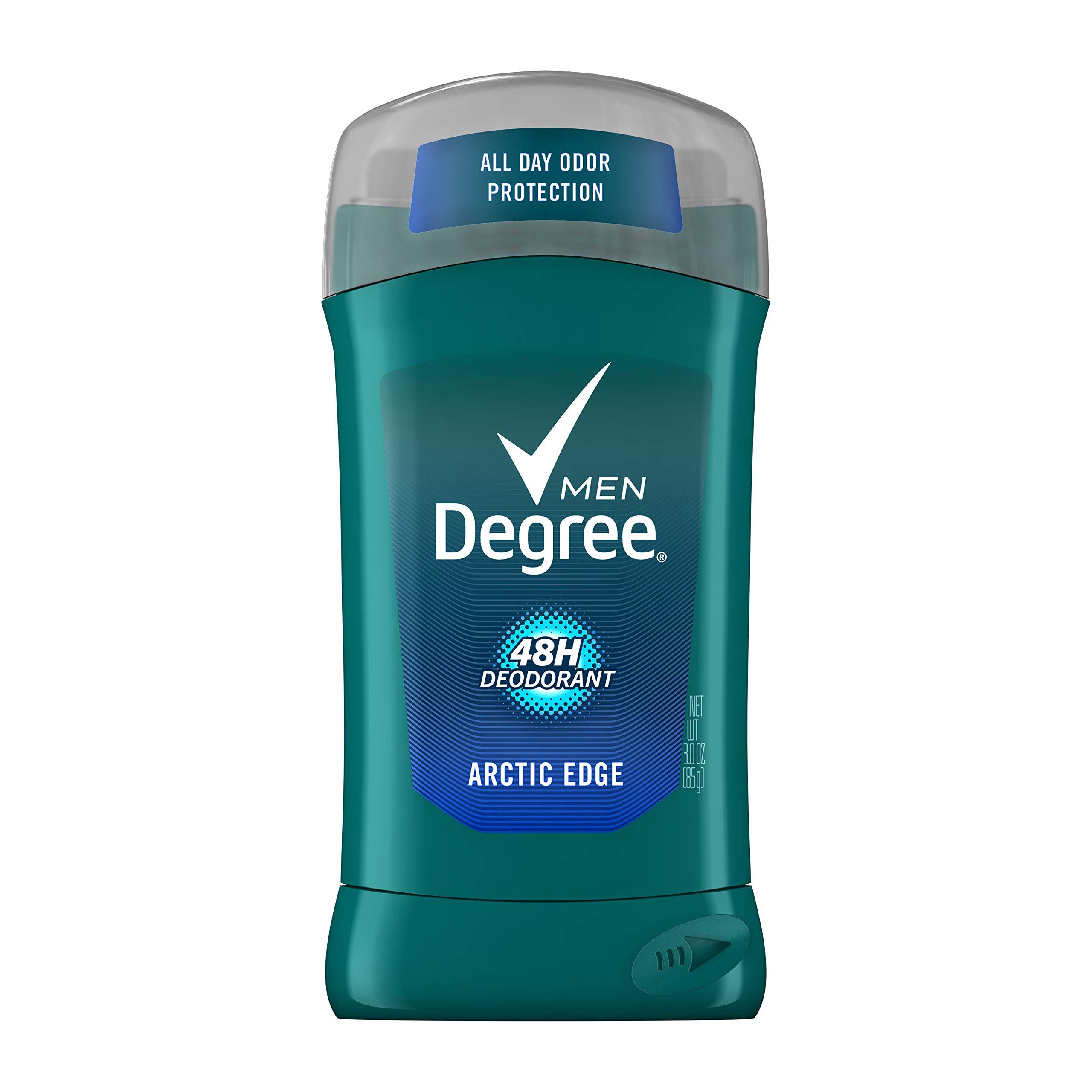Degree Men Extra Fresh Deodorant Arctic Edge 3 oz (6 Pack)