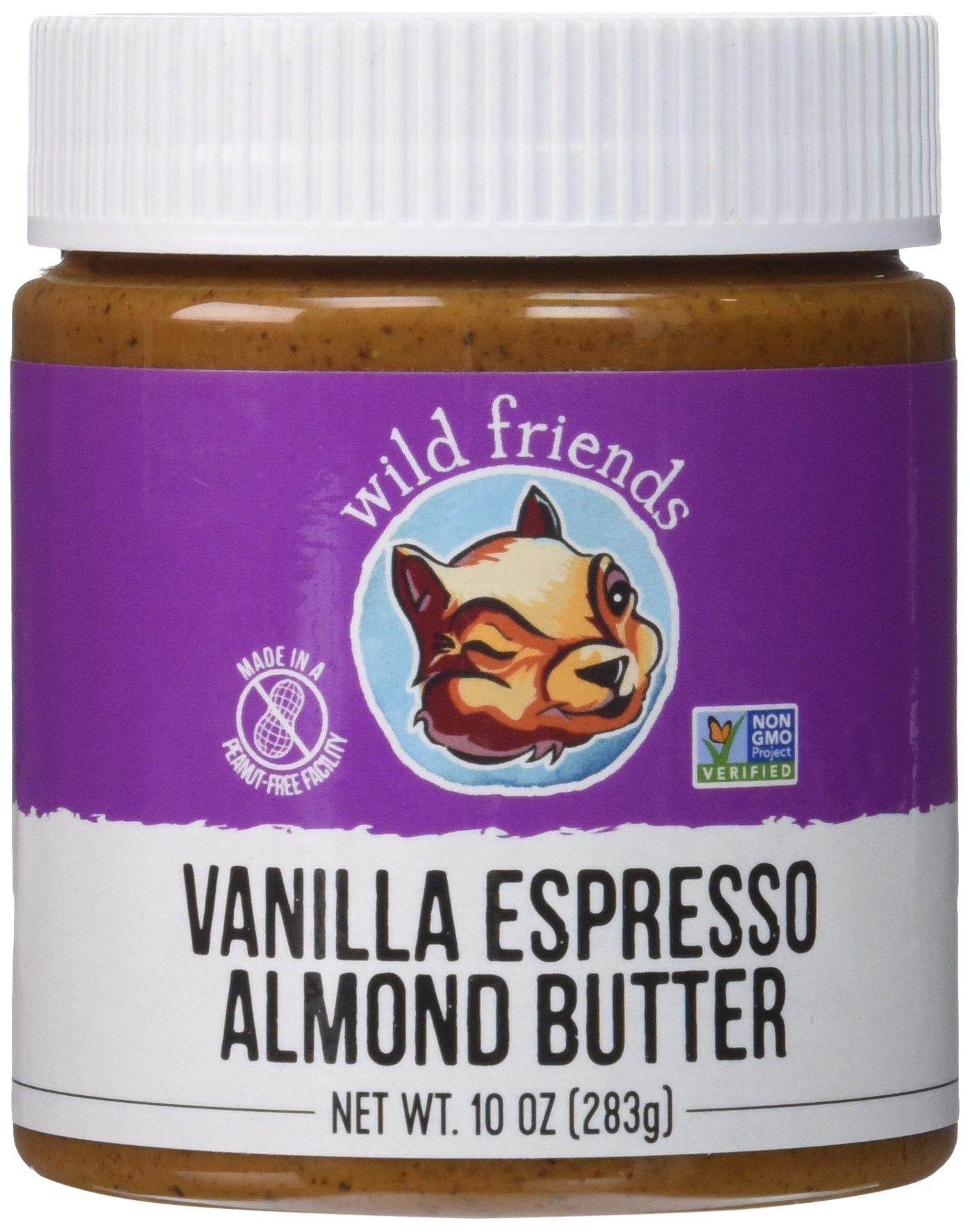 Wild Friends Foods Almond Butter, Vanilla Espresso, 10 oz Jar
