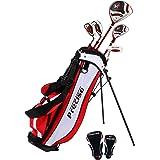 PreciseGolf Co. Precise X7 Junior Complete Golf Club Set for Children Kids - 3 Age Groups Boys & Girls - Right Hand & Left Ha