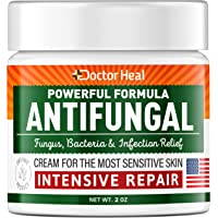 Antifungal Cream - Athletes Foot Cream - Made in USA - Fungus, Jock Itch, Body Acne & Athletes Foot Treatment - Fungus…