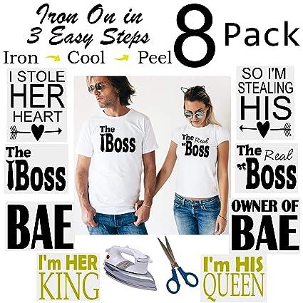 b270e2b3ba Funny Matching Shirts for Couples | Funny Couples T Shirts Set | Funny  Couple Costumes for