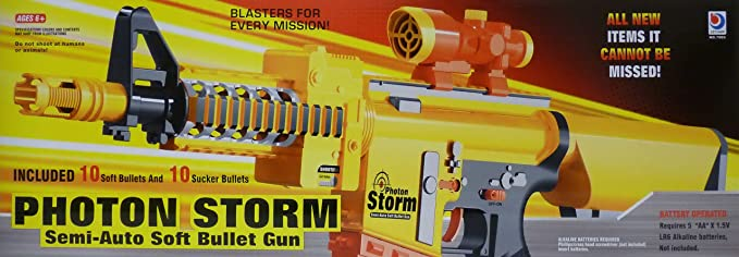 Amazon.com: Photon Storm Blaster M4/M16 eléctrico (estilo ...