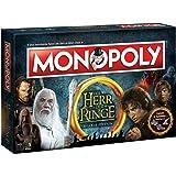 Monopoly  Herr der Ringe Edition - Der Kampf um Mittelerde | Gesellschaftsspiel | (Deutsch)