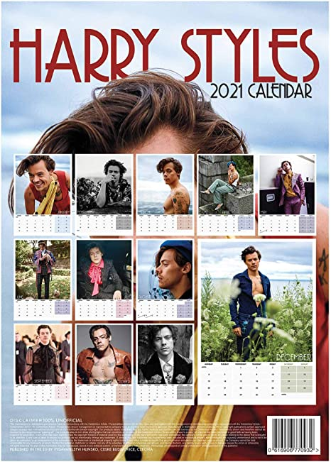 Pictures of 2021 One Direction Calendar