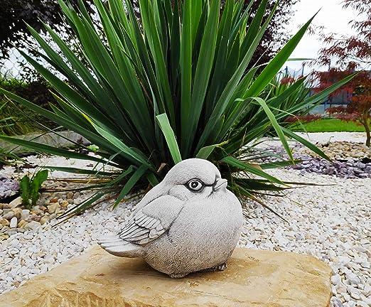 Green Lane Garden Decoración de jardín Estatua de Adorno de pájaro Gordo de Piedra fundida: Amazon.es: Jardín