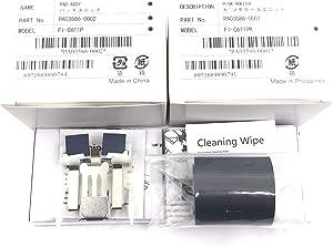 OKLILI 1SET X PA03586-0001 PA03586-0002 Consumable Kit Pick Roller + Pad Assy Assembly Pickup Roller Separation Pad Compatible with Fujitsu S1500 S1500M fi-6110 N1800