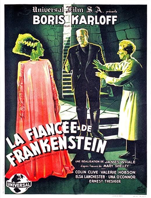 Boris Karloff Horror movie poster print 11 1935 The Bride of Frankenstein