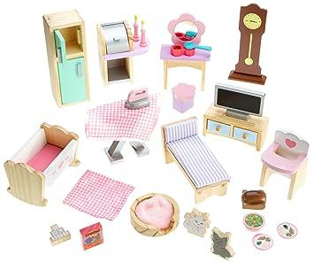Superb KidKraft Doll House Furniture Set (28 Pieces)