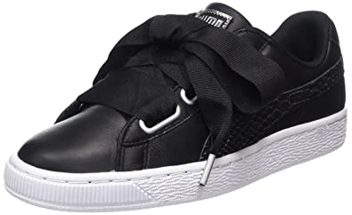 1ef6087ad5d8 Puma Women s Basket Heart Oceanaire WN s Trainers  Amazon.co.uk ...