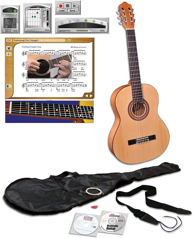 eMedia Teach Yourself Pack de guitarra clásica (nylon-string): Amazon.es: Instrumentos musicales