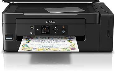 Epson L495 Impresora Multifuncional de Tinta, 15 PPM, 5760 X 1440 DPI