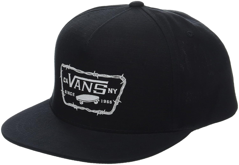 Vans_Apparel Full Patch Barbed Snapback Gorra de béisbol, Negro ...