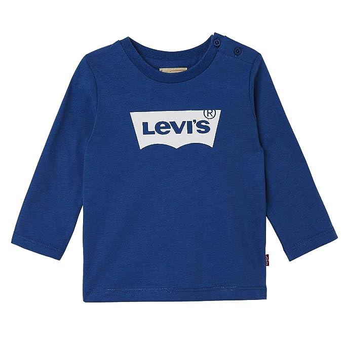 6dc093f5af Levi s kids Camiseta de Manga Larga para Bebés  Amazon.es  Ropa y accesorios