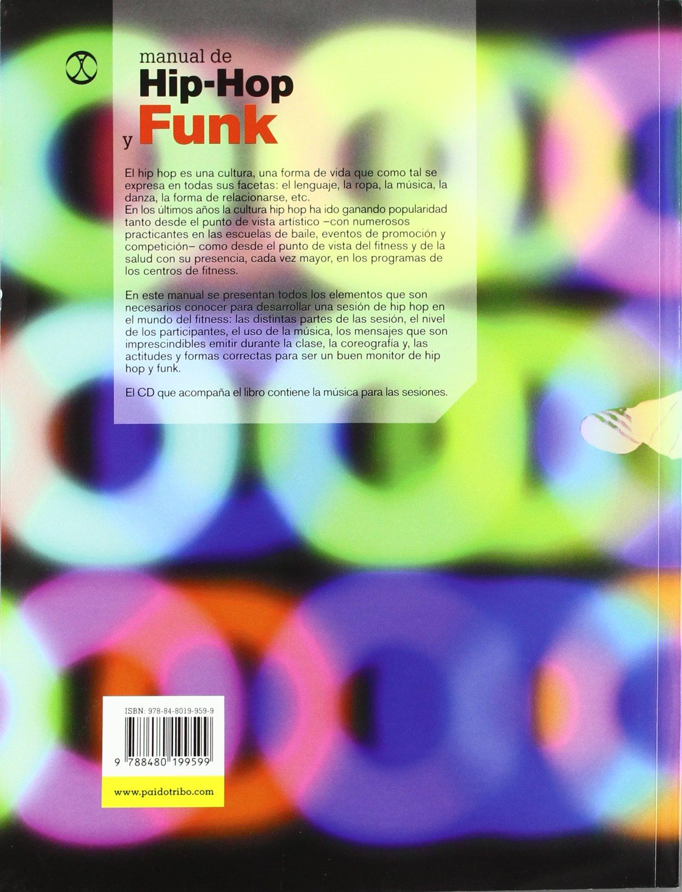 Manual de hip-hop y funk libro y cd (Fitness/Aerobic) (Spanish Edition): Eva Marco: 9788480199599: Amazon.com: Books