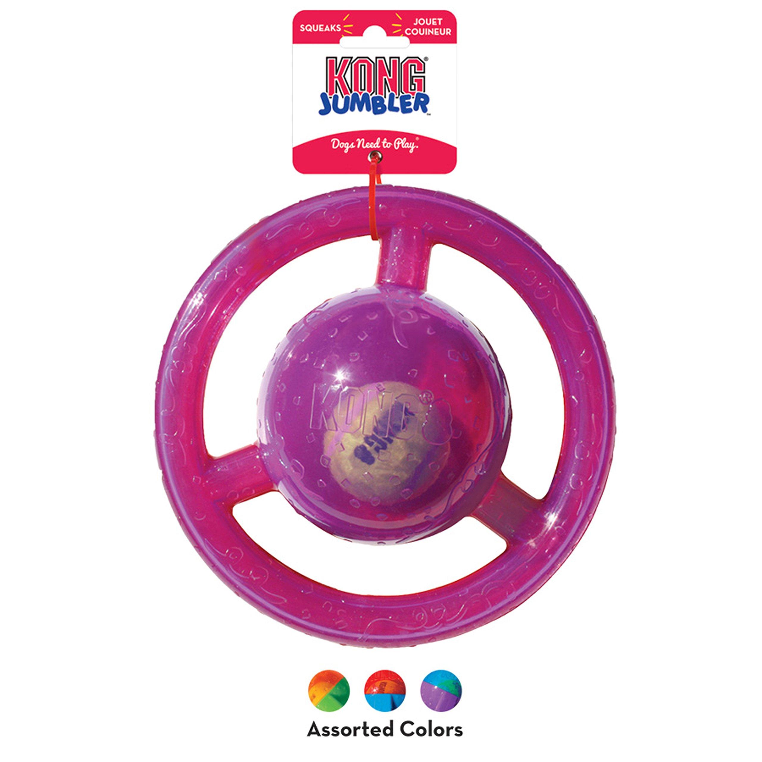 KONG Jumbler Disc Dog Toy, Medium/Large by KONG (Image #4)