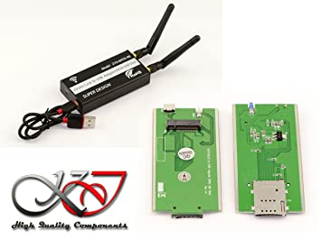 Kalea Informatique - Adaptador USB para tarjeta M.2 WWAN LTE ...