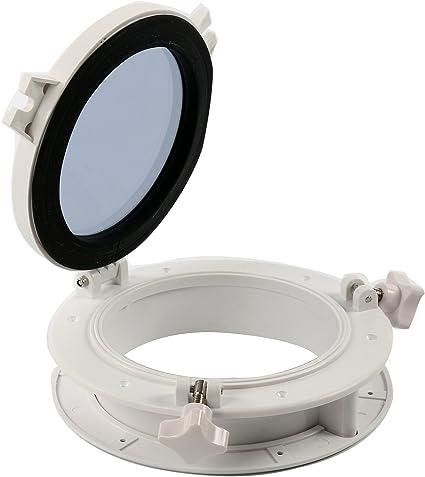 """Boat Yacht Marine Round Opening Portlight 10/"""" Replacement Window Porthole"""