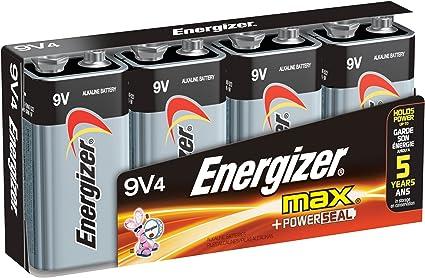 alpha-ene.co.jp Energizer Max Alkaline 9 Volt 4-Count Electronics ...