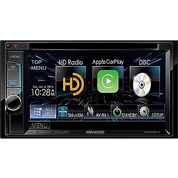 Kenwood ddx6702s DVD de 6.2 pulgadas Receptor con Apple CarPlay, Bluetooth y HD Radio