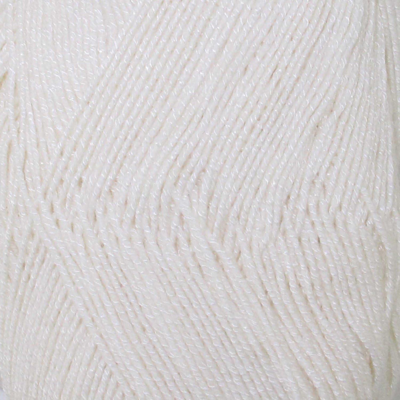 Super Fine Weight Soft and Slim Yarn Color 2001 Cornsilk - 2 Skeins - BambooMN