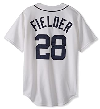 the latest adeb4 d941d MLB Detroit Tigers Prince Fielder White Home Replica Baseball Jersey, White