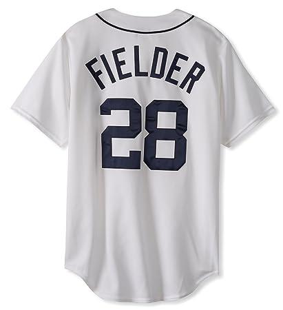 Amazon.com   MLB Detroit Tigers Prince Fielder White Home Replica ... c45e50652