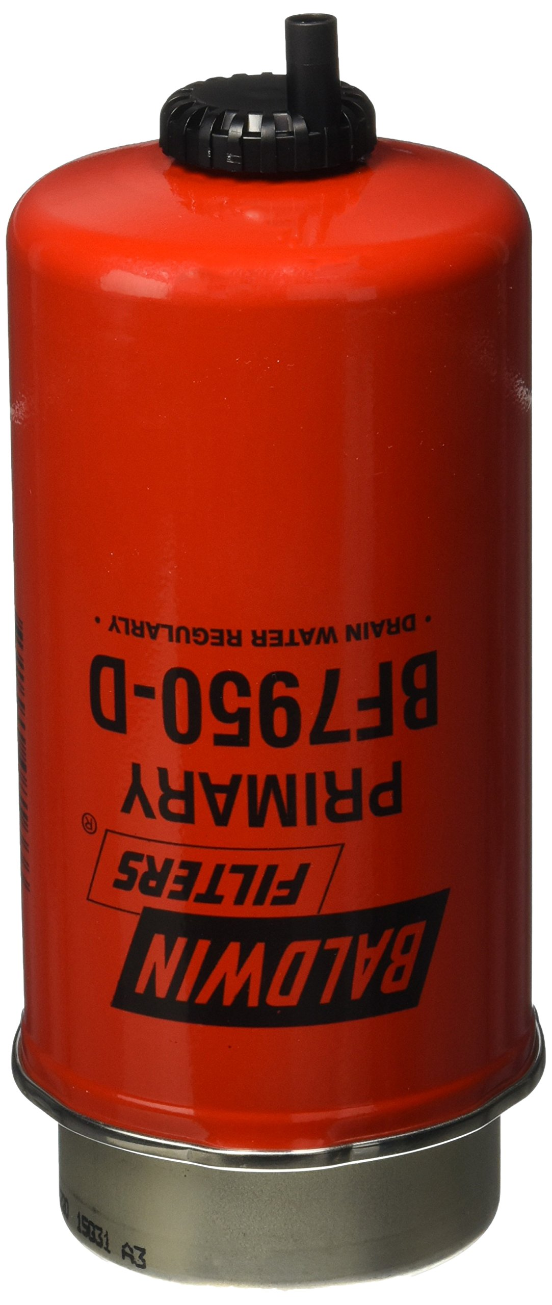 Baldwin Heavy Duty BF7950D Fuel Filter,7-21/32 x 3-1/2 x 7-21/32 In
