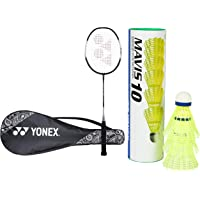 Yonex ZR Series Aluminum Strung  Badminton Racquet with Full Cover